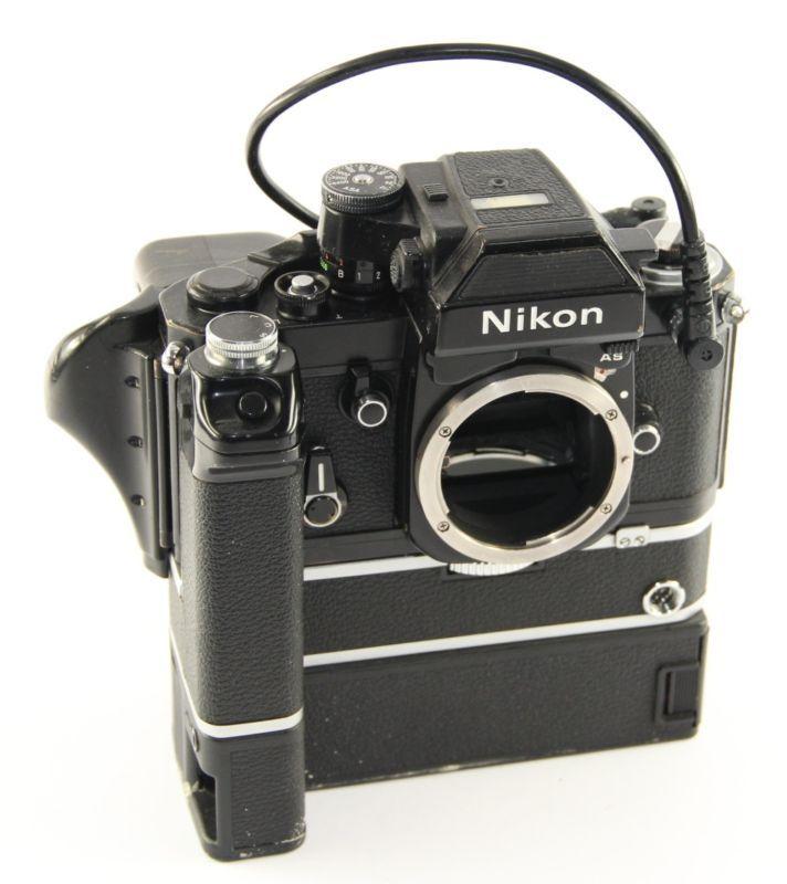 Nikon f2 as data + Nikon MOTORDRIVE md-1