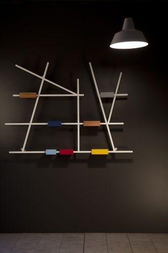 1000 images about storage on pinterest wooden sideboards ron arad and fur - Etagere murale contemporaine ...