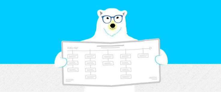 Urso aprendendo sobre UX