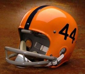 Syracuse Orangemen 1959-63 'Ernie Davis' Authentic Vintage Full Size Helmet
