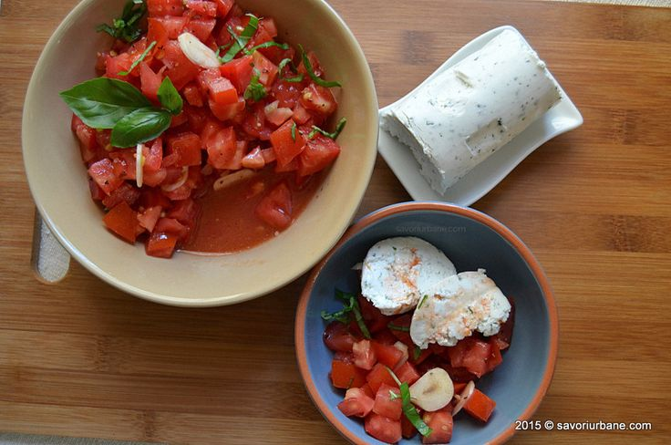 Salata de rosii cu branza de capra si busuioc Savori Urbane (8)
