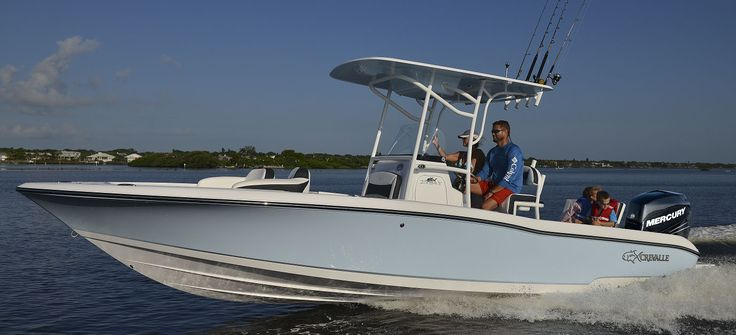 26 Bay Boat by Crevalle Boats