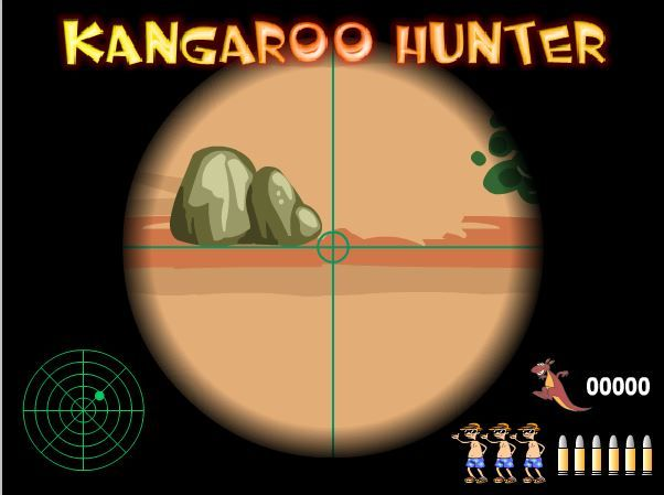 Keen to kill a few kanga`s? Knock yourself out!