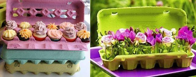 11 maneiras de reaproveitar caixas de ovos - Amando Cozinhar - Receitas, dicas de culinária, decoração e muito mais!