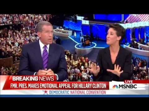 """Rachel Maddow PISSED Off At Bill Clinton's Sexist DNC Speech: 'Shocking & Rude' . [VIDEO] . """"But the end of the speech was really good . I've got to say, the top of the speech I found shocking and rude"""" ."""