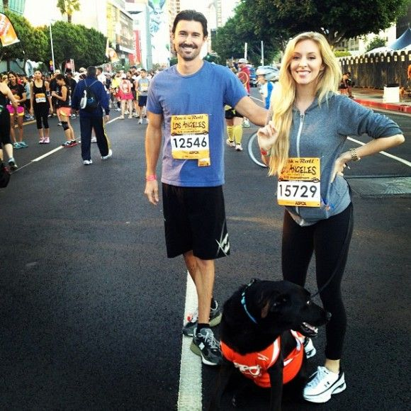 Brandon Jenner & Leah Felder: couples working out together :)