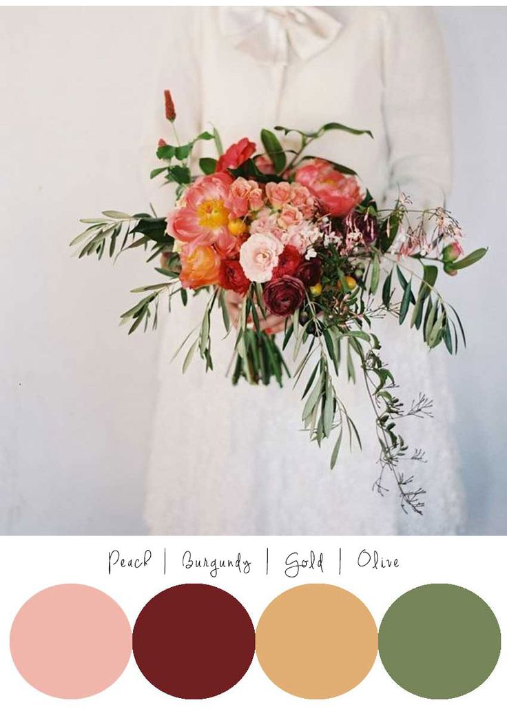 Love the colors and the bouquet