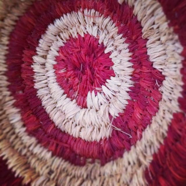 Basket#2 by Tjanpi Desert Weavers