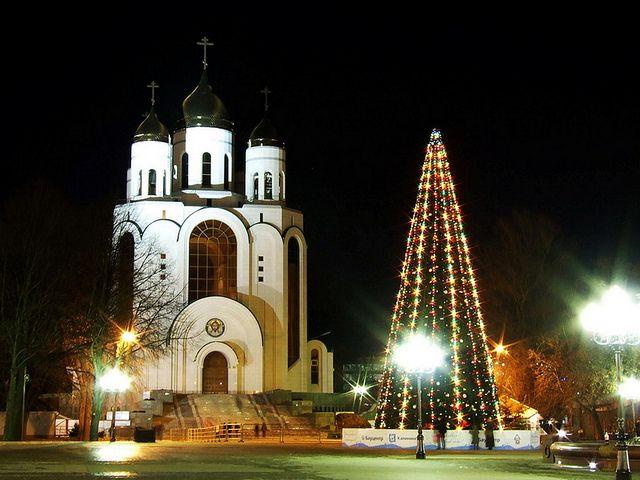 Christmas in Kaliningrad - Russia