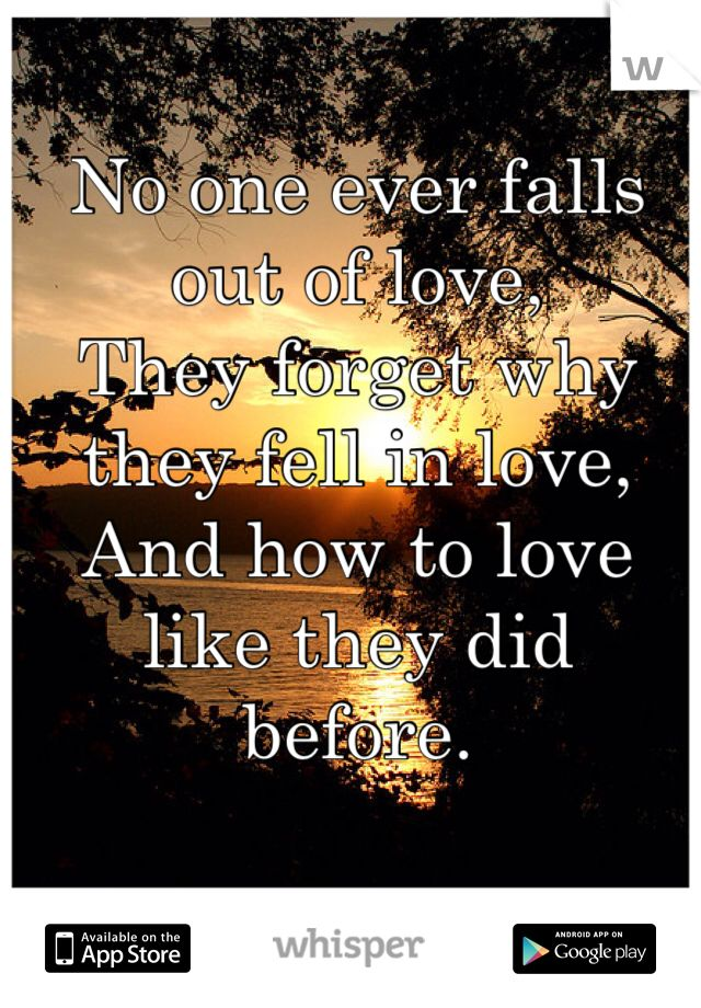 And In It Of Out To Love Normal Is Fall announced his
