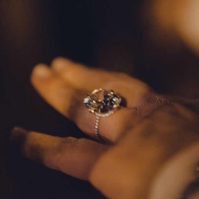 Kim Kardashian's flawless engagement ring