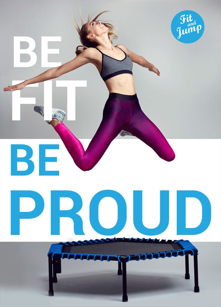 BE FIT  BE PROUD BE FIT AND JUMP #fitandjump #fitnessnatrampolinach #sport #fitness