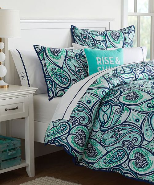 Girls Paisley Bedding