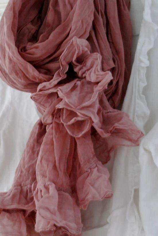 Dusty Pink Scarve