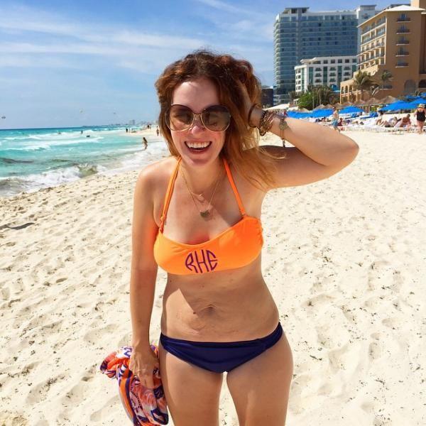 Su poderosa imagen en bikini la ha convertido en un icono feminista - Yahoo Tendencias España