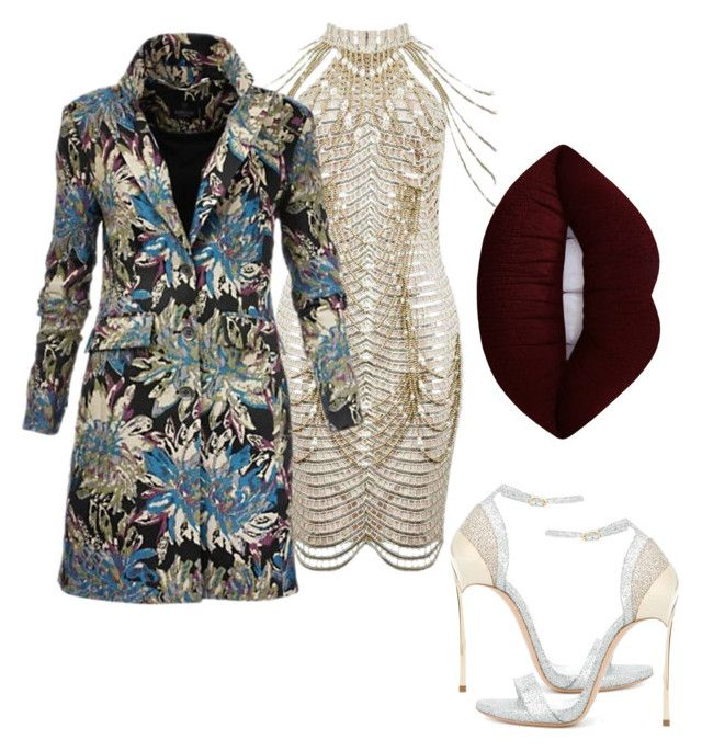 """""""Untitled #14"""" by tripti917 on Polyvore featuring Casadei, Lime Crime and statementcoats"""