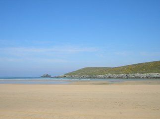 Crantock Beach, North Cornwall