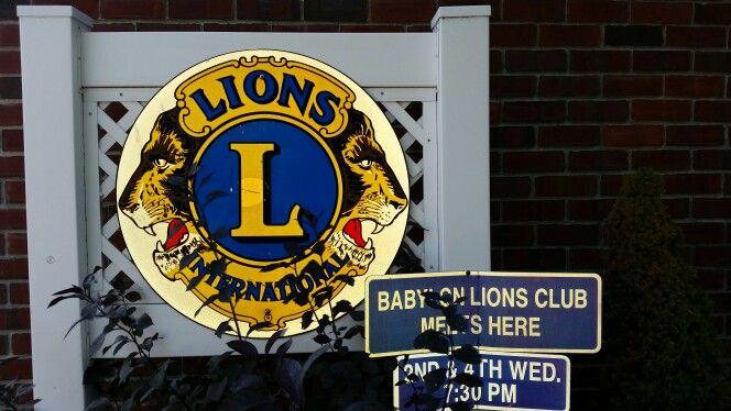 Lions Club meets at Lily Flanagan's