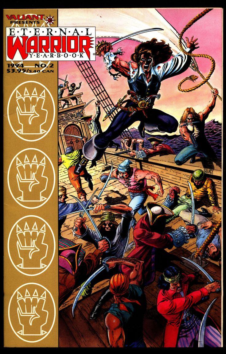 ETERNAL WARRIOR Yearbook 2 Sword & Sorcery Magick Science Fiction Fantasy Comic Book