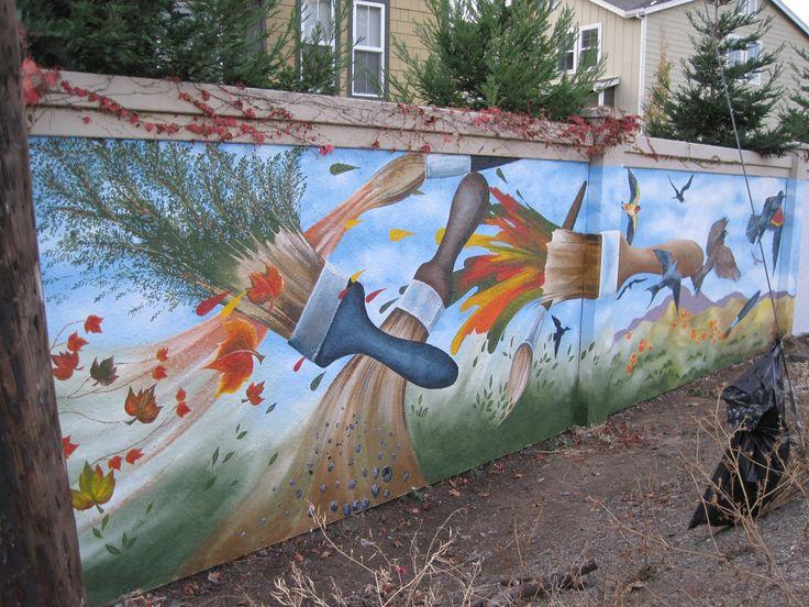 Elementary School Murals | Got any mural ideas for Hayward sound wall?