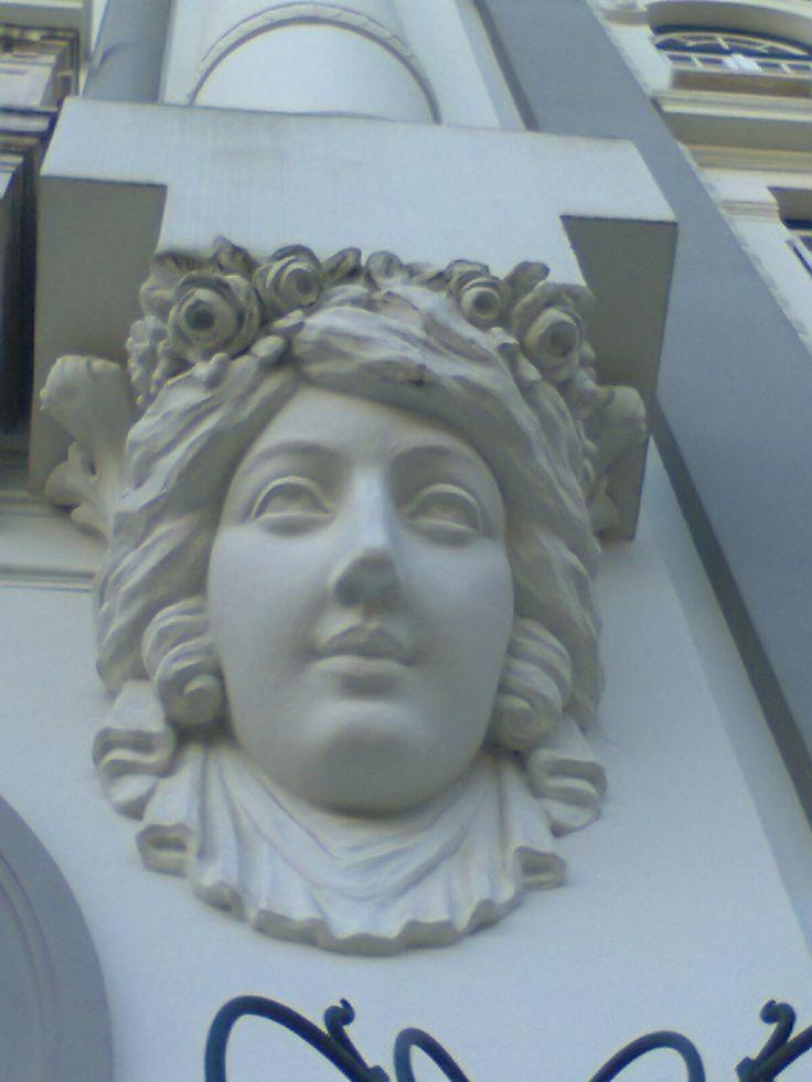 Grande Hotel da Curia. Pormenor da fachada