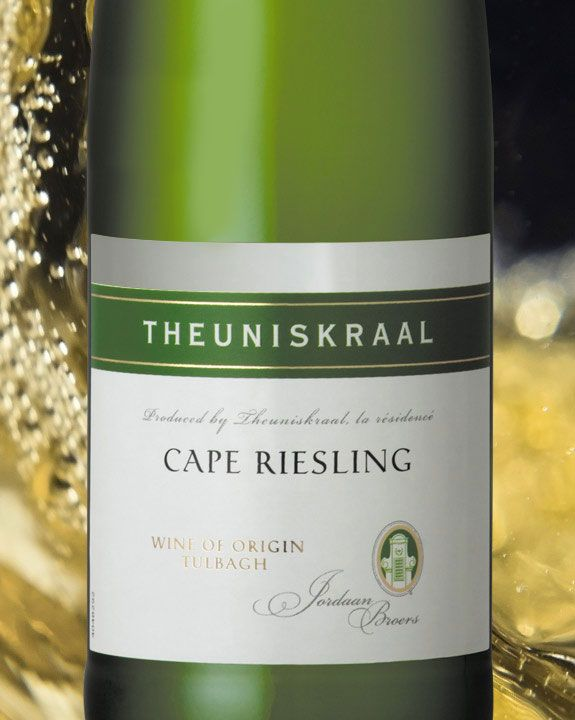 Checkers - RIESLING An aromatic German grape, dry and crisp. Flavours: apples, flowers, honey. Enjoy with: spicy food. Cheese: smoked Cheddar. Chocolate: mild milk chocolate. Our range includes: Theuniskraal, Deidesheim in Germany.