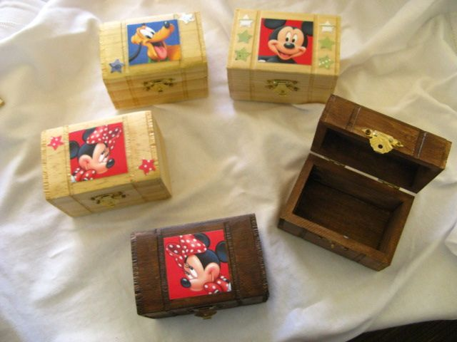 Treasure Box - Would be cute filled with chocolate coins