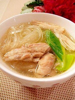 効果的なダイエットに!!美味しい春雨スープ ダイエットレシピ - NAVER ... 出典jp.rakuten-static.com · せせりの中華春雨スープ