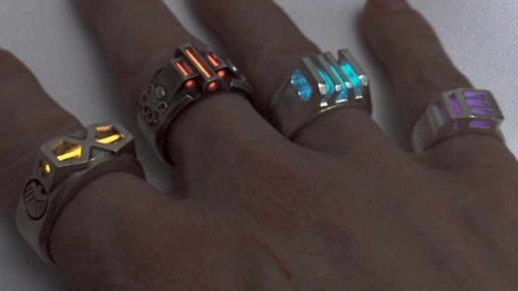 Glowing Infinity Stone Rings Inspired by Thanos' Infinity Gauntlet — GeekTyrant