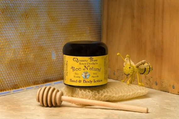 Bee Natural lotion by queen bee honey by queenbeehoney on Etsy