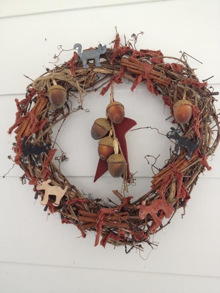 Autumn Grapevine wreath 40 best wreaths images