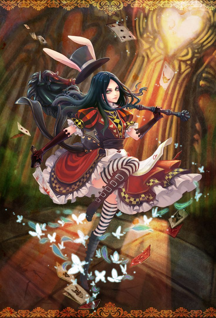 alice in wonderland madness returns drawings of dragons