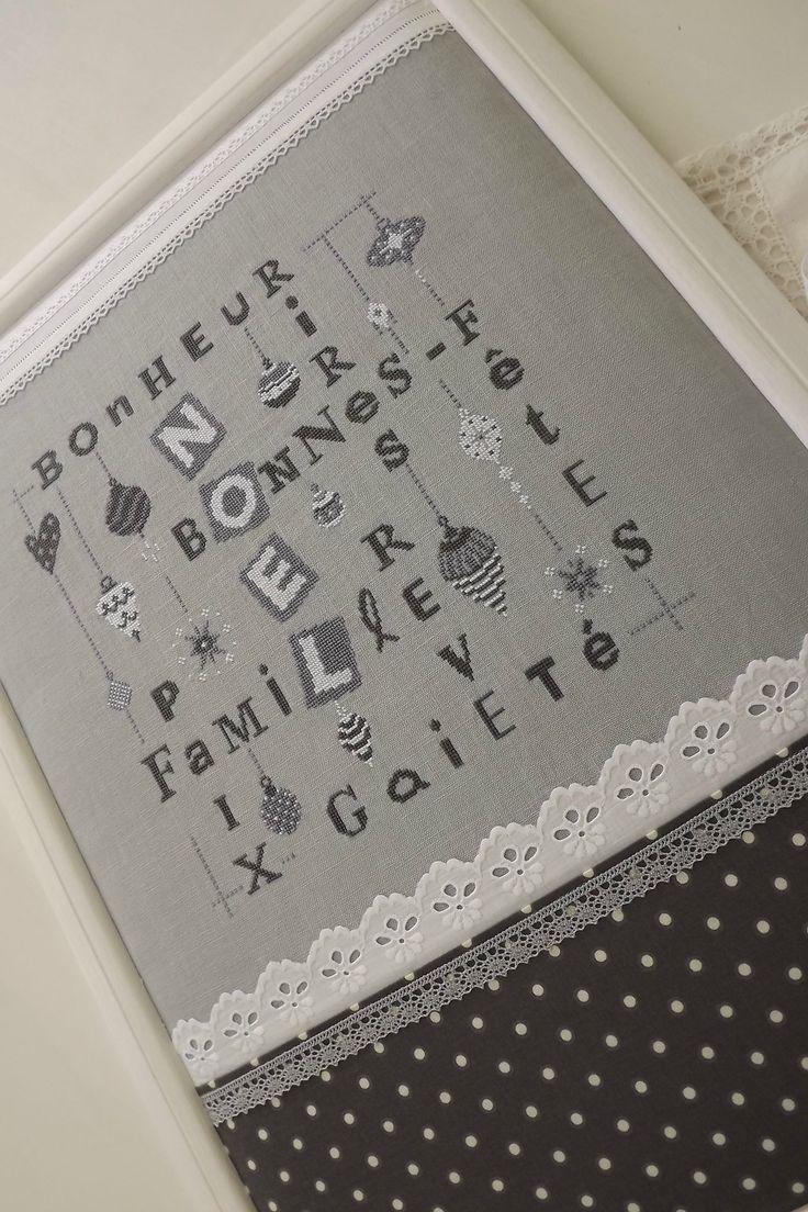 Bonne fêtes Atelier 67 Lili Points - nice idea!