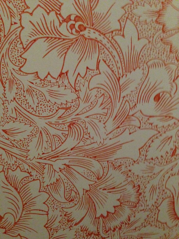 Gorgeous wallpaper print seen at Scotney Castle. To read about our visit go to www.denysandfielding.co.uk/blogs/news