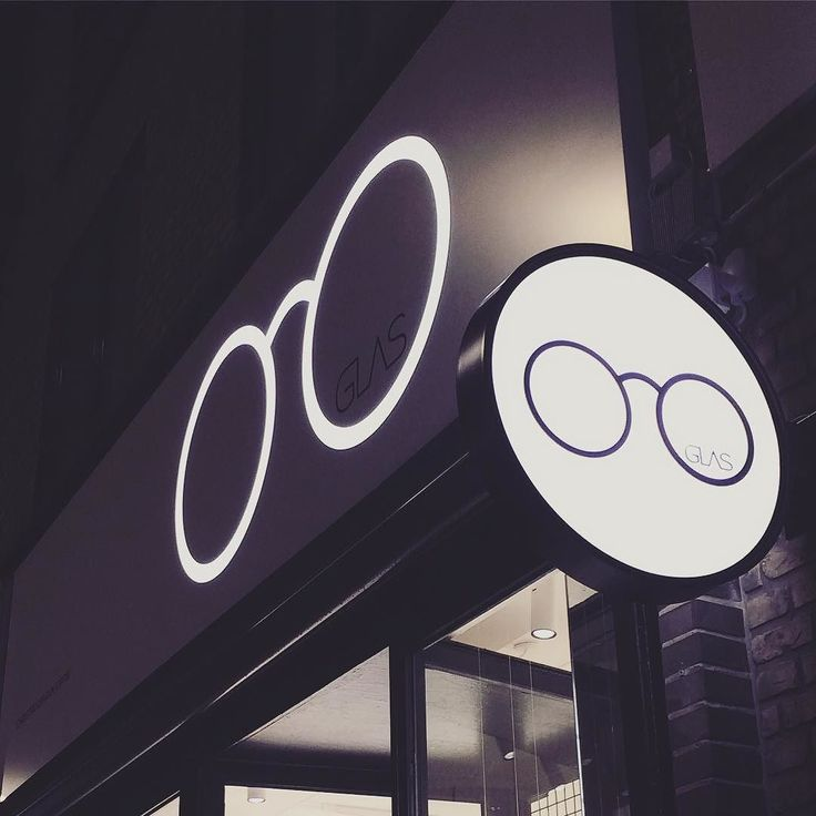So cool to see our design from @computerartsdk up and in the flesh! #logodesign #graphics #opticians #optik #christianshavn #graphicdesign #visualidentity #visual #identity #logo #branding