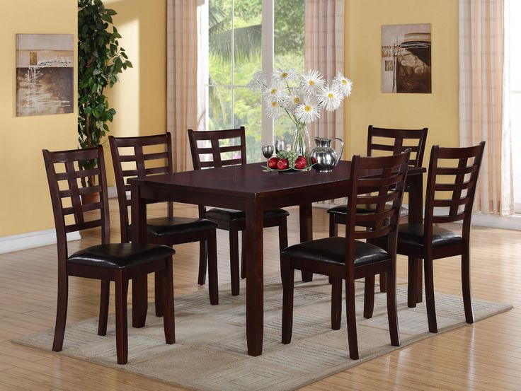 Browse Cheap And Affordable Darren 7 Pc Dinette By Crown Mark At Urban Furniture Outlet