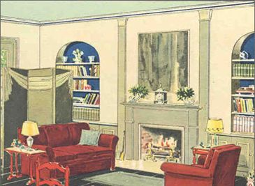1930u0027s Benjamin Moore Decorating/painting Ideas Part 72