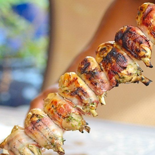 10 Amazing Brazilian Recipes via @frombraziltoyou: Churrasco - Brazilian-style barbeque grilled chicken