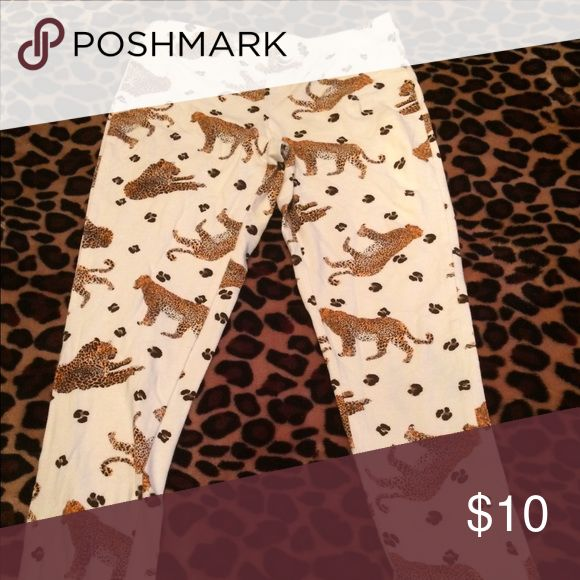 Animal Print tights with Leopard Leopard animal print tights Other