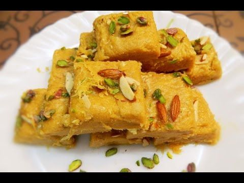 PATISA/Soan Papdi an Indian sweet recipe  step by step Recipe by Khana M...