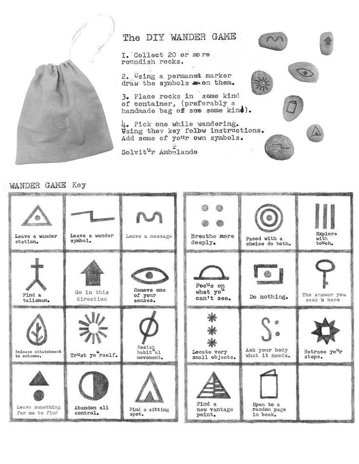 The DIY Wander Game - The Wander Society