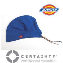 83566A Royal Blue Dickies Unisex Scrub Hat with Certainty Antimicrobial Protection
