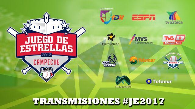 Ambos eventos de mitad de campaña tendrán una difusión sin precedentes y podrán ser vistos en todos los rincones del país, tanto en televisión abierta como de paga.Las empresas televisivas que transmitirán el HR Derby, el sábado programado a las 18:00 horas, y el Juego de Estrellas, que iniciará a las 20:00 horas, son:TV Azteca, UTDN, ESPN, MVS Canal 52, Megacable, AYM Sports, Multimedios Televisión, TRC, televisora del Gobierno de Campeche, Telemar Campeche, Mayavisión y Telesur.
