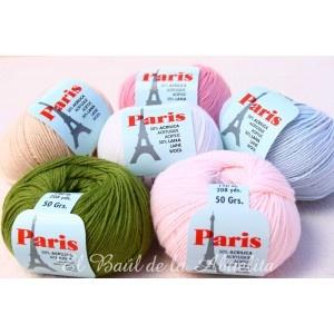Ofil París - 50% lana y 50% acrílico. 50gr.