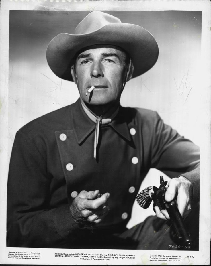 Image result for albuquerque randolph scott poster