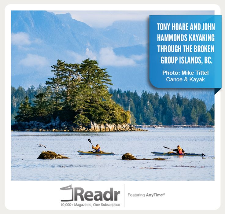 Read about Tony Hoare and John Hammonds journey through the Broken Group Islands in the latest issue of Canoe & Kayak.  For Canoe & Kayak and hundreds of other titles visit http://readrapp.com/