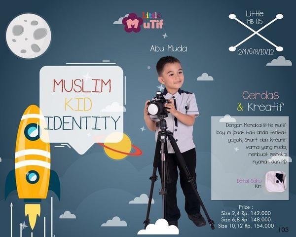 Baju Kemeja Anak Little Mutif Boy LMB-05 Abu Muda