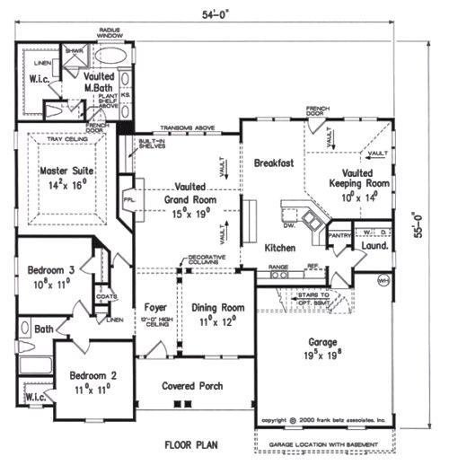 68 best Frank Betz House Plans images on Pinterest House floor - fresh define blueprint design