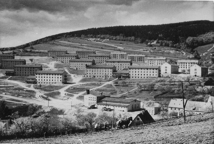Šenbach - Meziboří v roce 1952
