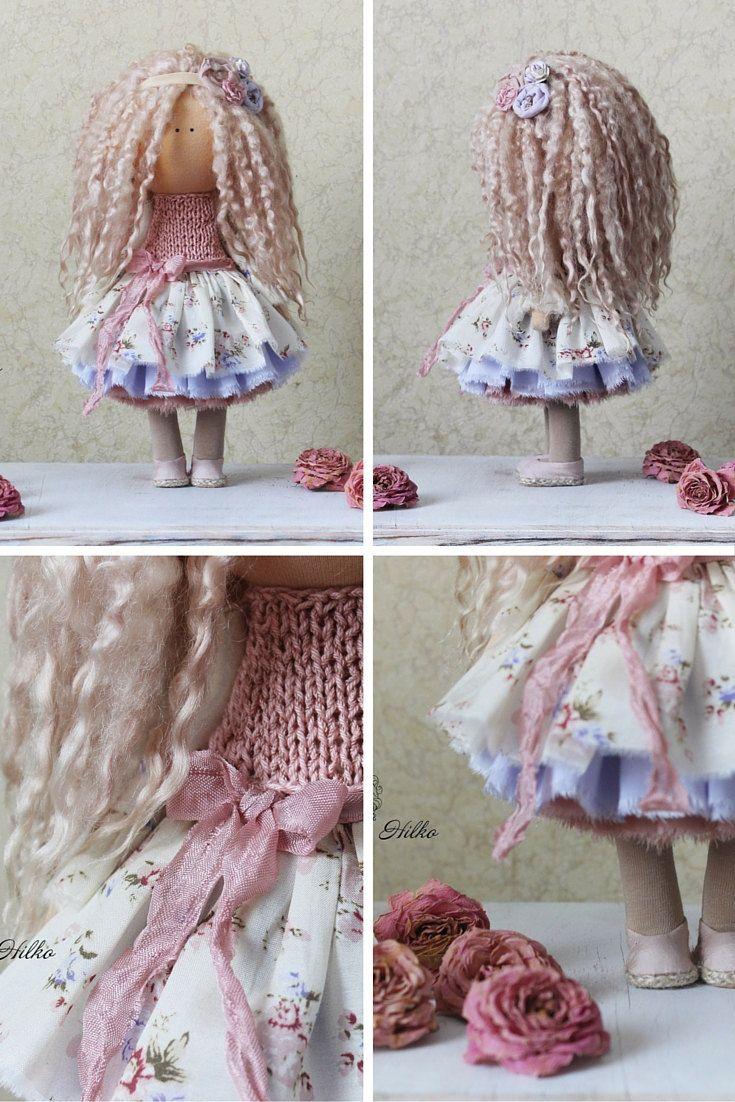 Handmade doll Tilda doll Rag doll Art doll by AnnKirillartPlace